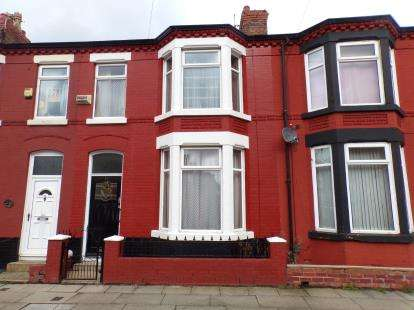 3 Bedrooms Terraced House for sale in Wharncliffe Road, Old Swan, Liverpool, Merseyside, L13
