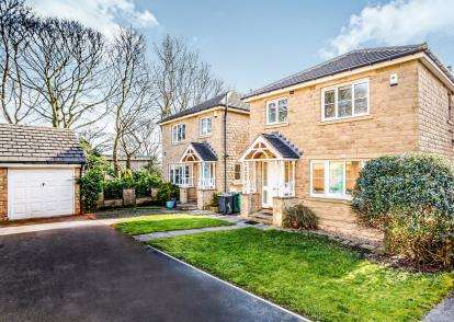 4 Bedrooms Detached House for sale in Wellfield Road, Marsh, Huddersfield, West Yorkshire