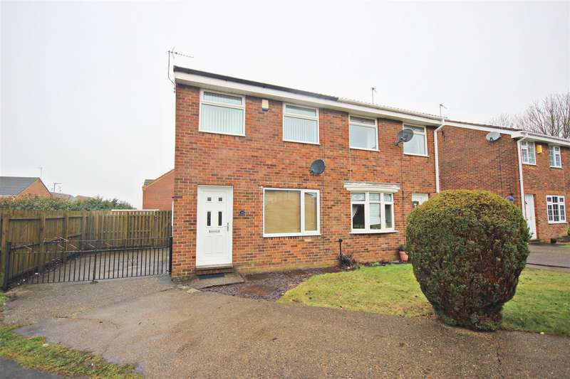 2 Bedrooms Semi Detached House for sale in Millford Way, Bowburn, Durham