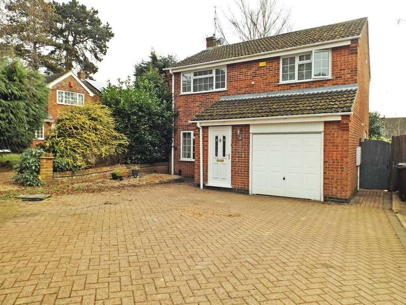 3 Bedrooms Detached House for sale in Cedrus Court, Northampton, Northamptonshire, NN2