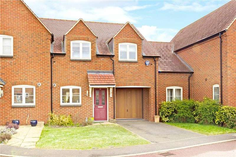 3 Bedrooms Terraced House for sale in Mansion Gardens, Potterspury, Towcester, Northamptonshire