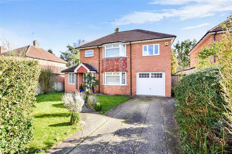 4 Bedrooms Detached House for sale in Pulens Crescent, Petersfield, Hampshire