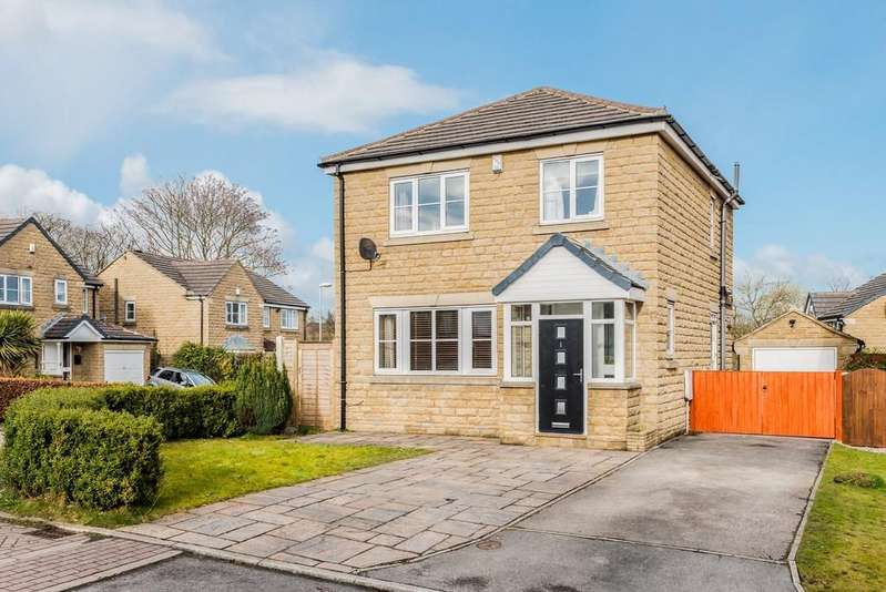 3 Bedrooms Detached House for sale in Ventnor Close, Gomersal