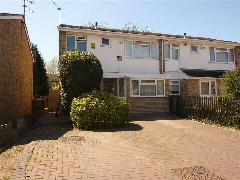 3 Bedrooms Semi Detached House for sale in Quantock Avenue, Caversham, Reading