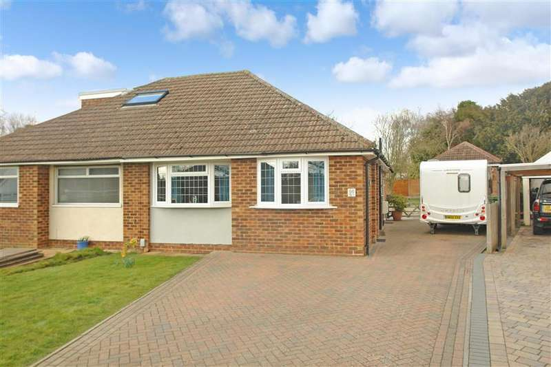 2 Bedrooms Semi Detached Bungalow for sale in Bramley Crescent, Bearsted, Maidstone, Kent
