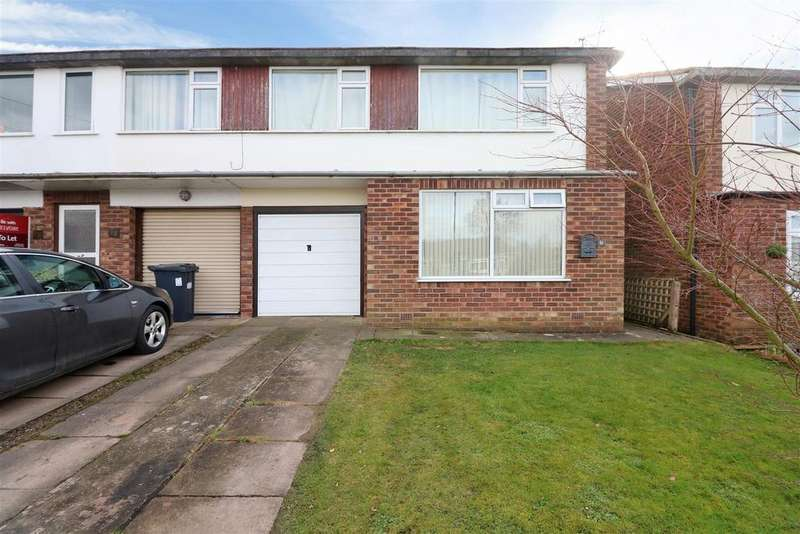 2 Bedrooms Maisonette Flat for sale in Hatherell Road, Radford Semele, Leamington Spa