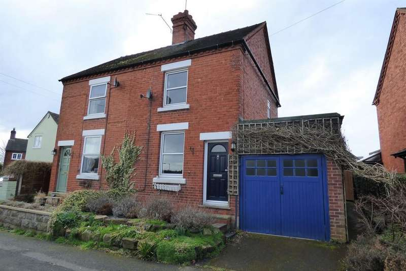 2 Bedrooms Semi Detached House for sale in Broomyclose Lane, Stramshall