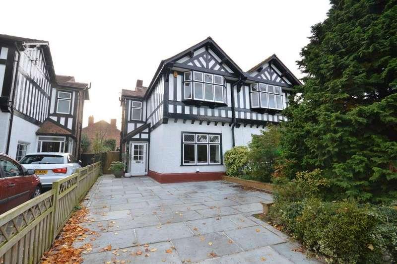 3 Bedrooms Semi Detached House for sale in Alexandra Road, Stockton Heath, Warrington