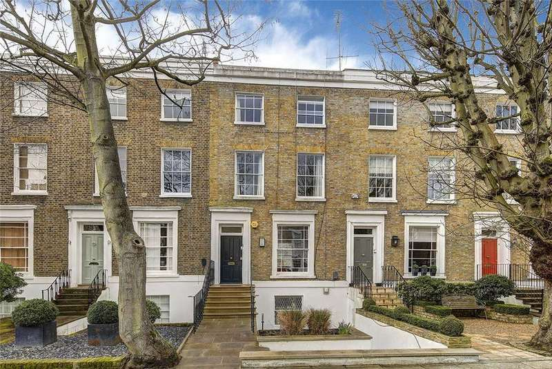 4 Bedrooms Terraced House for sale in Blenheim Terrace, London, NW8
