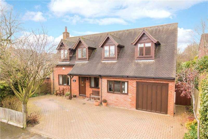 4 Bedrooms Detached House for sale in Old Windmill Way, Long Crendon, Aylesbury, Buckinghamshire