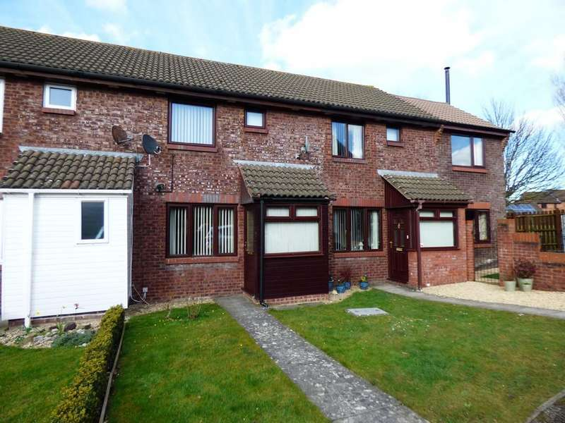 2 Bedrooms Terraced House for sale in Danvers Way, Westbury