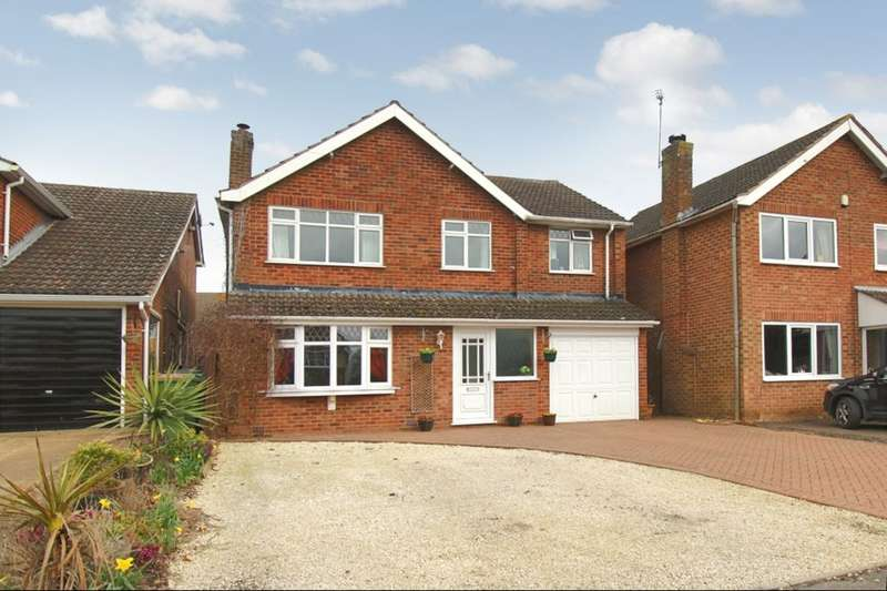 5 Bedrooms Detached House for sale in Park View, Sharnford, Hinckley, LE10