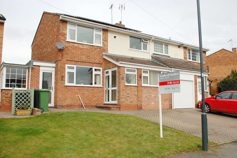 3 Bedrooms Semi Detached House for sale in Riddell Close, Alcester, B49