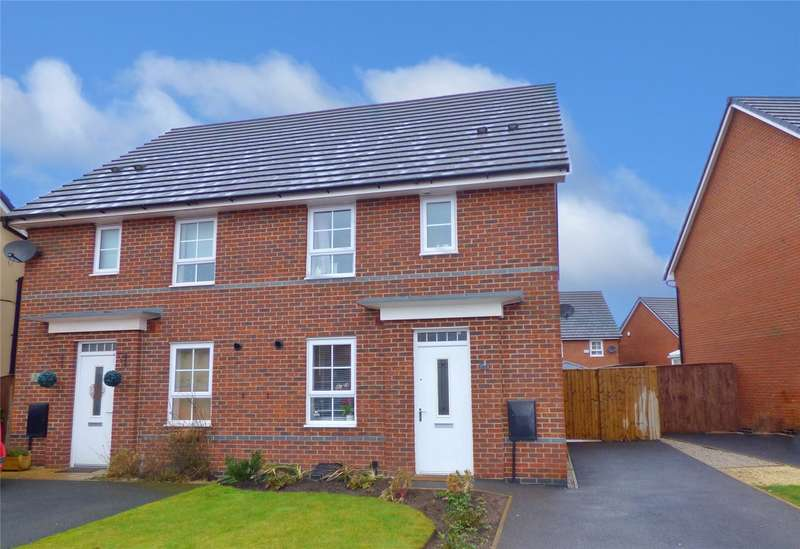 3 Bedrooms Semi Detached House for sale in Fisher Drive, Heywood, Greater Manchester, OL10