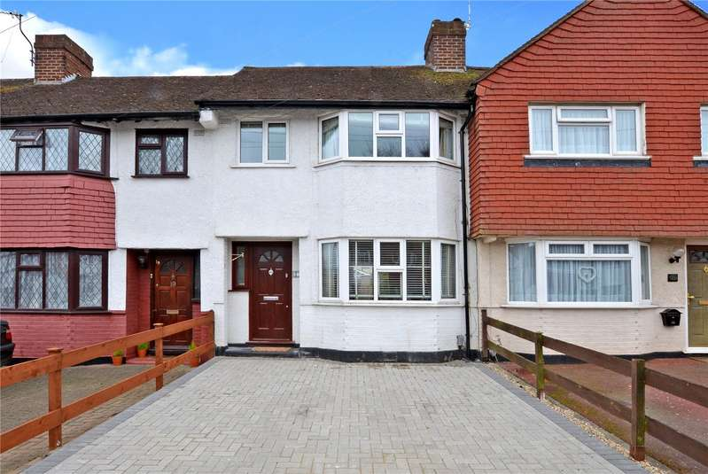 3 Bedrooms Terraced House for sale in Merrilands Road, Worcester Park, KT4