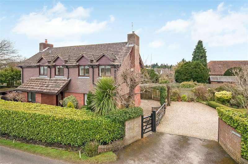 4 Bedrooms Detached House for sale in Kiln Lane, Braishfield, Romsey, Hampshire, SO51