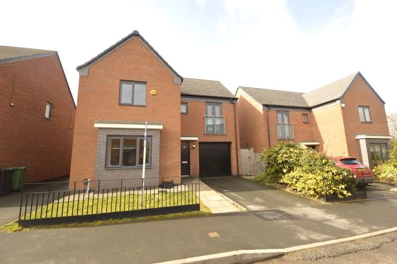 4 Bedrooms Detached House for sale in Ranger Drive, Wolverhampton, WV10
