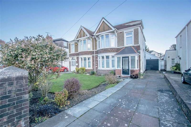 4 Bedrooms Semi Detached House for sale in Fairwater Grove East, Llandaff, Cardiff