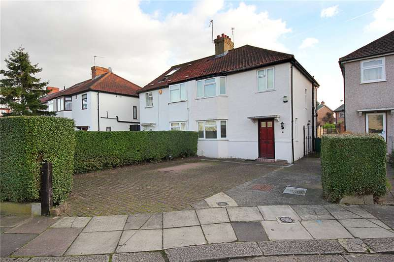 3 Bedrooms Semi Detached House for sale in Royle Crescent, London, W13