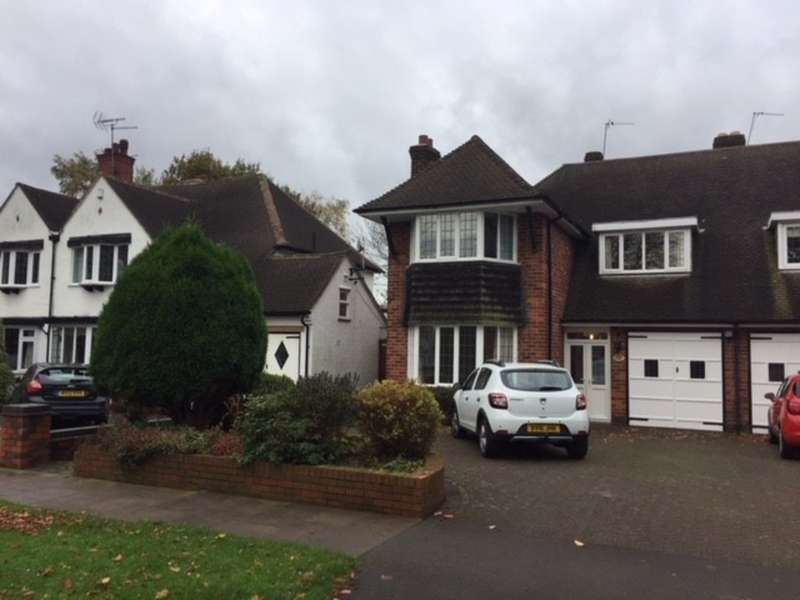 4 Bedrooms Semi Detached House for rent in The Boulevard, Sutton Coldfield, West Midland B73