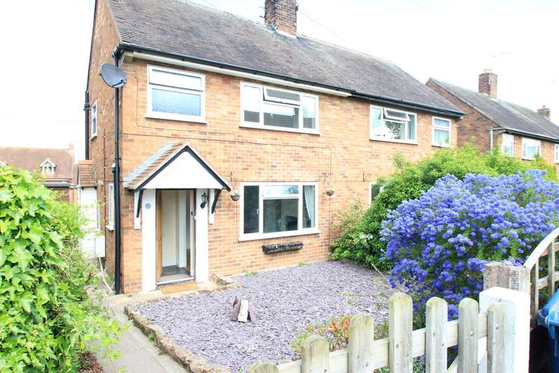 2 Bedrooms Semi Detached House for rent in Southwell Estate, Eccleshall, Stafford, Staffordshire ST21