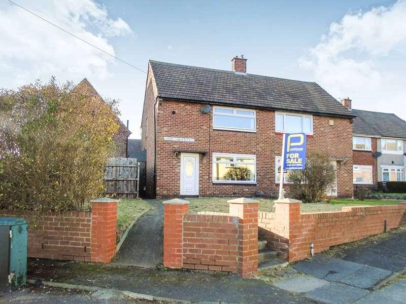 2 Bedrooms Property for sale in Cheltenham Square, Hylton Castle, Sunderland, Tyne and Wear, SR5 3QG