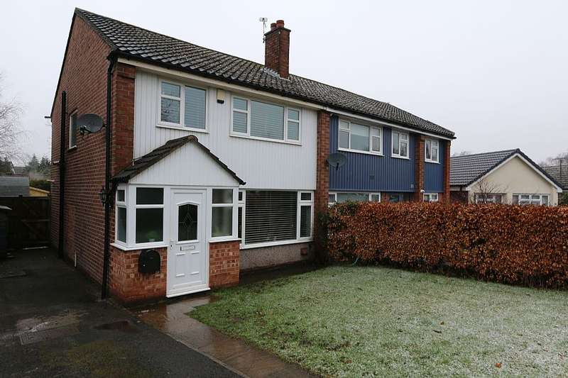 3 Bedrooms Semi Detached House for sale in Maple Avenue, Poynton, Stockport, Cheshire, SK12 1PR
