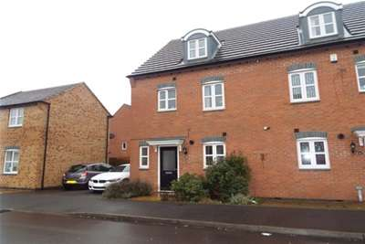 4 Bedrooms Semi Detached House for rent in Dragoon Road, Coventry, CV3