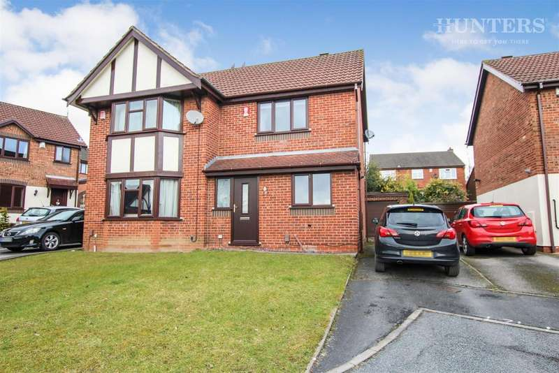 2 Bedrooms Semi Detached House for sale in Holst Drive, Stoke-on-Trent, ST1 6TQ