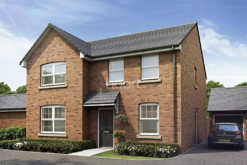 4 Bedrooms Detached House for sale in Plot 85, The Wyeford, Monmouth