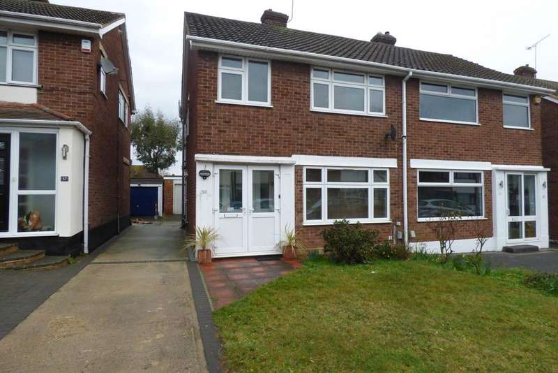 3 Bedrooms Semi Detached House for sale in Hedingham Road, Hornchurch RM11