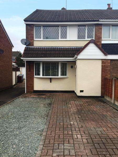 3 Bedrooms Semi Detached House for sale in Sharon Way, Hednsford, Saffordshire WS12