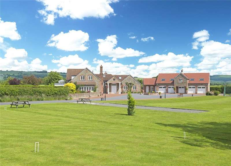 5 Bedrooms Detached House for sale in Bullocks Mill, Lyonshall, Herefordshire