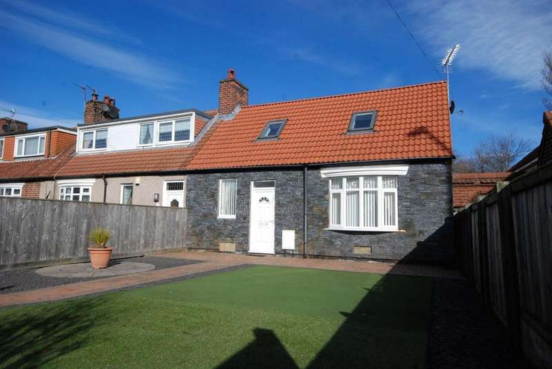 2 Bedrooms Bungalow for sale in Black Road, Hebburn