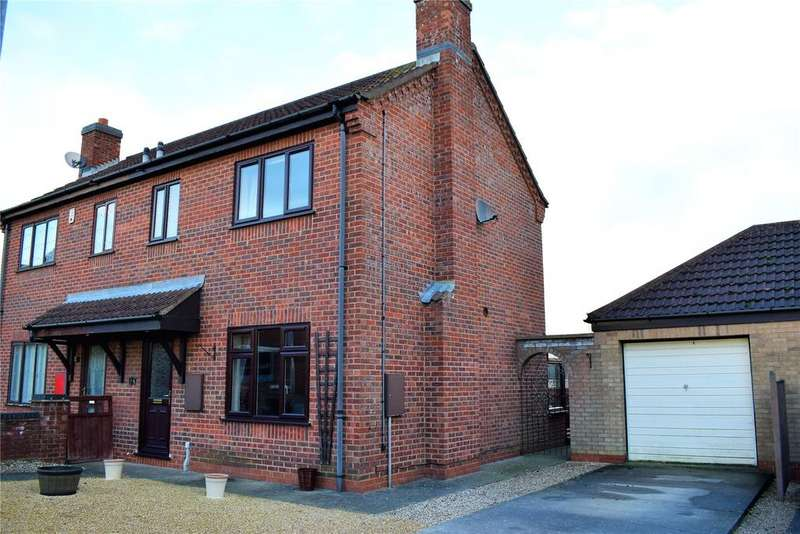 3 Bedrooms Semi Detached House for sale in Harrys Dream, Broughton, Brigg, North Lincolnshire, DN20