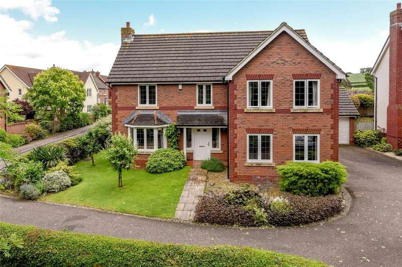 4 Bedrooms Detached House for sale in Queens Drive, Taunton, Somerset