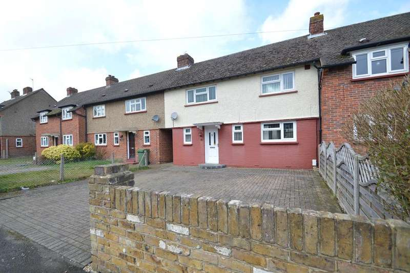 3 Bedrooms Terraced House for sale in Celandine Road, HERSHAM KT12