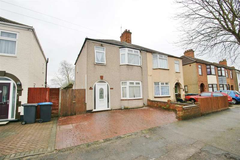 3 Bedrooms Semi Detached House for sale in Eastlands Road, Rugby