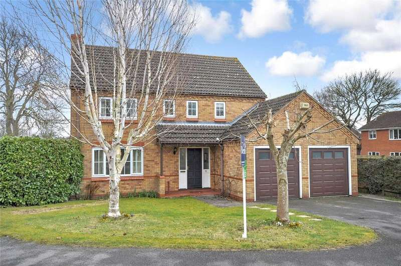 4 Bedrooms Detached House for sale in Carnegie Crescent, Melton Mowbray, Leicestershire