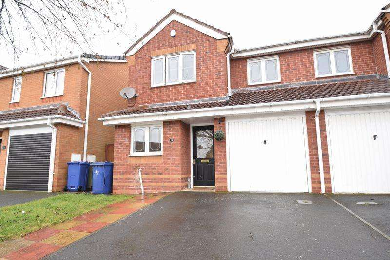 3 Bedrooms Semi Detached House for sale in Braemar Road, Norton Canes
