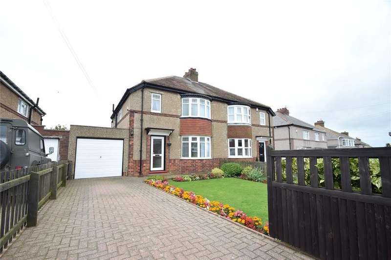 3 Bedrooms Semi Detached House for sale in Station Road South, Murton, Seaham, Co Durham, SR7