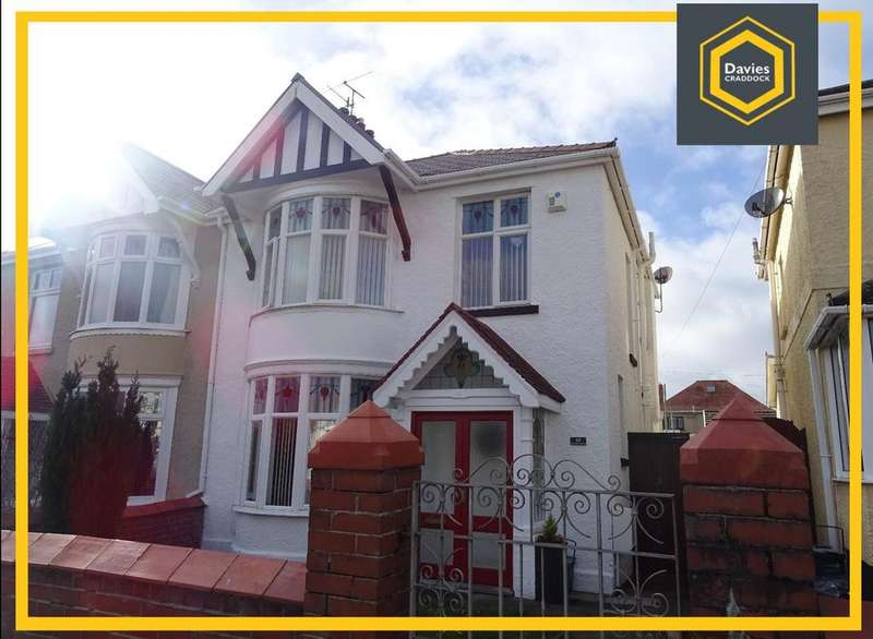 3 Bedrooms Semi Detached House for sale in Tyr Fran Avenue, Llanelli, SA15
