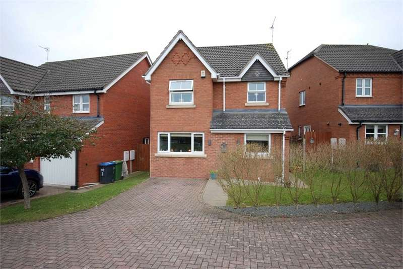 3 Bedrooms Detached House for sale in Devonshire Close, Cawston Grange, RUGBY, Warwickshire