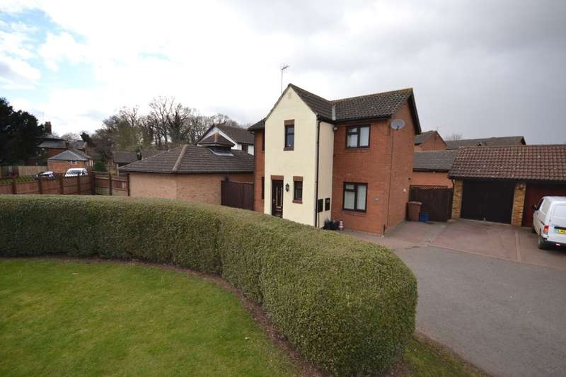3 Bedrooms Detached House for sale in Barn Owl Close, Grangewood, East Hunsbury, Northampton, NN4
