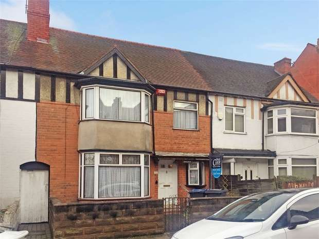 3 Bedrooms Terraced House for sale in Whitehall Road, Handsworth, Birmingham, West Midlands