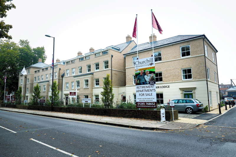 2 Bedrooms Apartment Flat for sale in Chelmer Lodge, 111 New London Road, Chelmsford, CM2