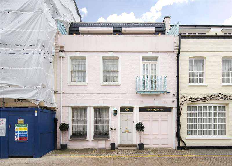 3 Bedrooms Mews House for sale in Princes Gate Mews, London, SW7