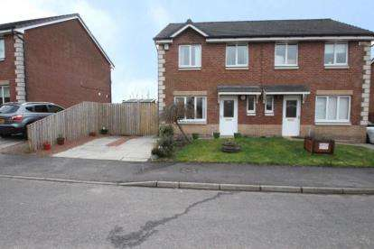 3 Bedrooms Semi Detached House for sale in Currie Place, Ruchill, Glasgow