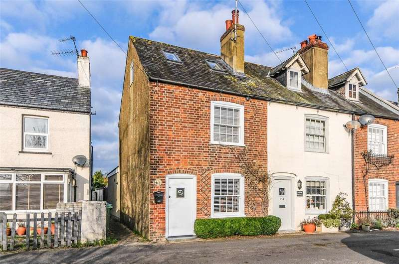 2 Bedrooms End Of Terrace House for sale in Fitzalan Road, Arundel, West Sussex, BN18