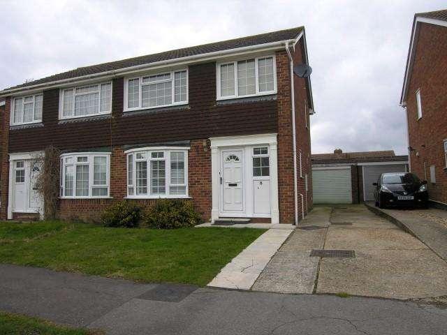 3 Bedrooms Semi Detached House for rent in Goodwin Close, Hailsham, East Sussex, BN27 3DE